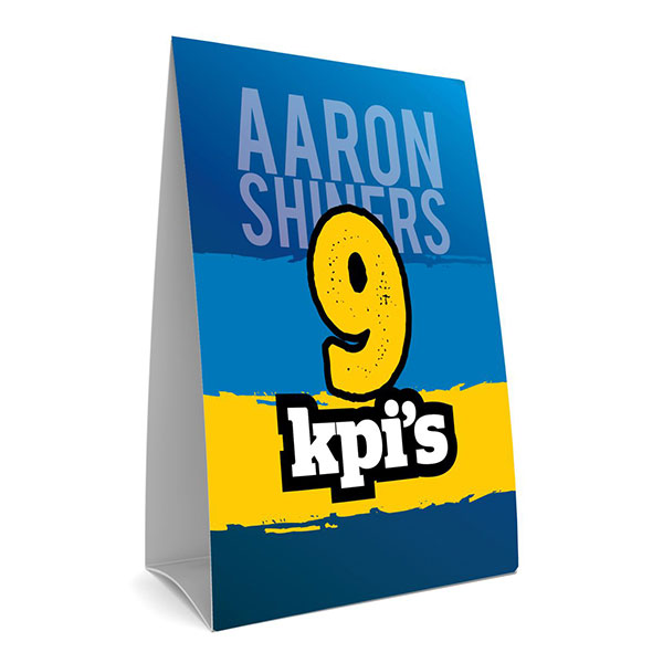 Aaron's Key Performer Indicators (KPI) template