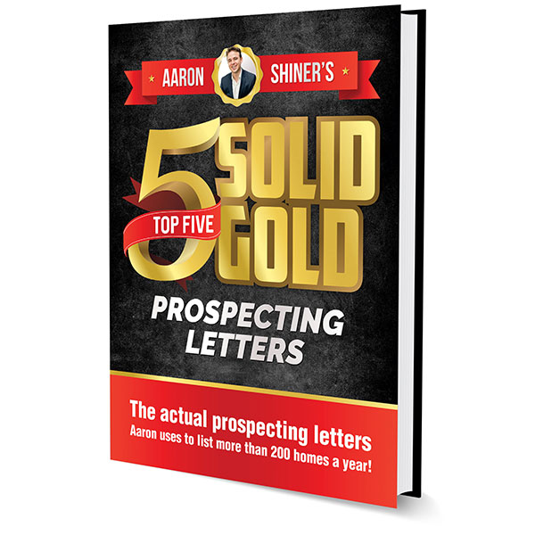 Aaron's TOP 5 Solid Gold Prospecting letters